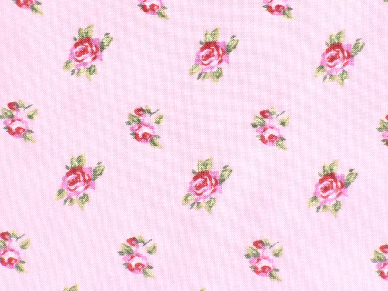 Rosenstoffe Romantik Cottage Rose Rosa Pink Memories