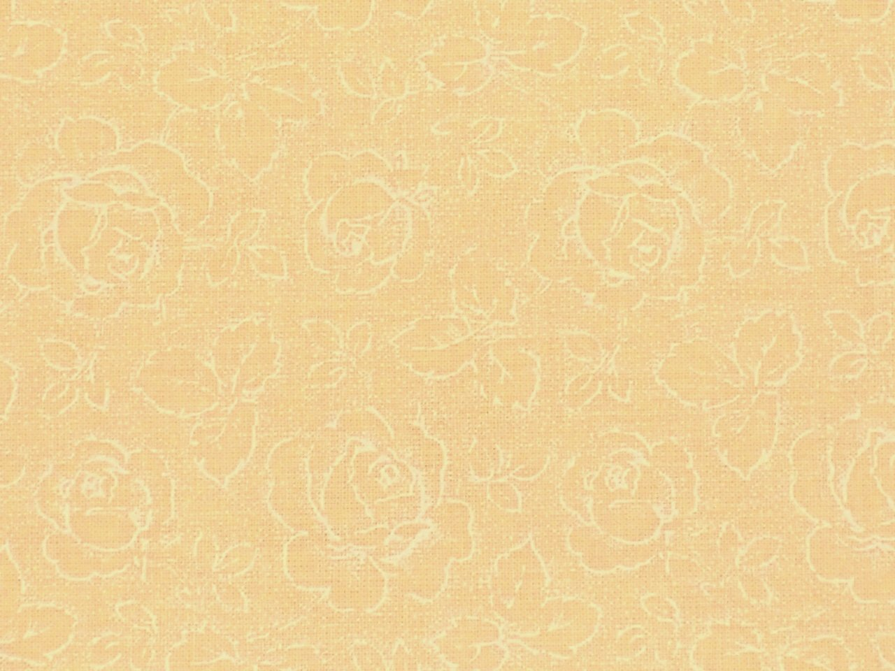 Quilt Fabrics Backing Roses on Creme