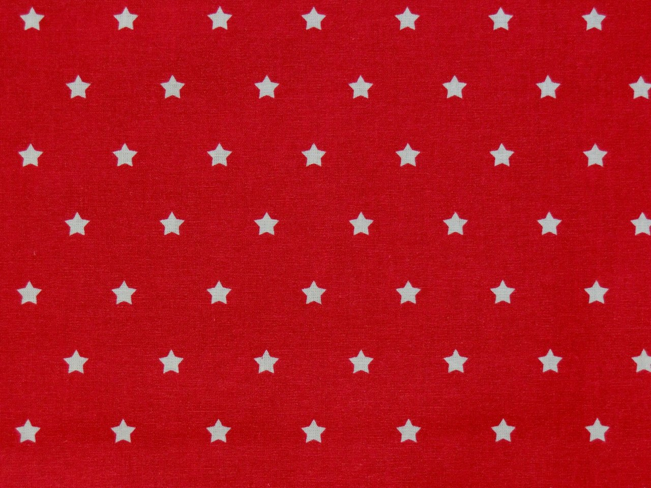 USA Cotton Laminated Stars red white